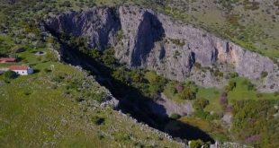 Ο Άγνωστος κρατήρας μετεωρίτη στην Ε.Ο Τρικάλων- Λαρίσης