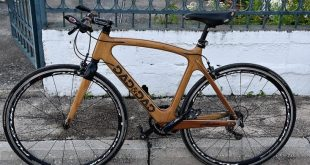 Ένα μοναδικό ξύλινο ποδήλατο από έναν Τρικαλινό
