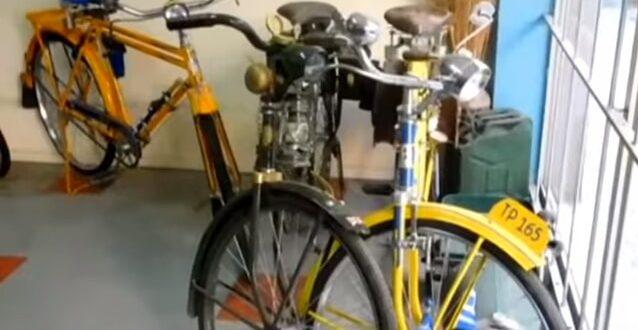 Τα σπάνια συλλεκτικά ποδήλατα-αντίκες στα Τρίκαλα