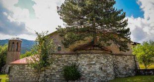 100 χρονών δέντρο μεγαλώνει μέσα σε εκκλησία στα Γρεβενά