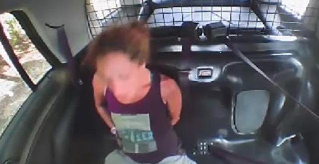 Απίστευτη απόδραση γυναίκας: Έβγαλε τις χειροπέδες κι έφυγε με το περιπολικό!
