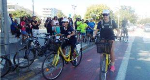 Στον κεντρικό «ποδηλατοδρόμο» ξεκίνησαν οι εκδηλώσεις
