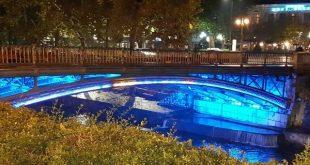 Στα μπλε η πεζογέφυρα ενάντια στον σακχαρώδη διαβήτη