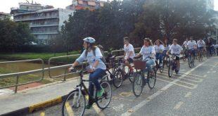 Ποδηλατοβόλτες κάθε Πέμπτη στα Τρίκαλα