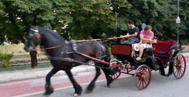 Βγήκαν... αμαξάδες στη πόλη