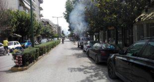 Στις φλόγες σταθμευμένο αυτοκίνητο επί της οδού Ασκληπιού!!!