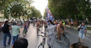 Γυμνή Ποδηλατοδρομία στη Θεσσαλονίκη