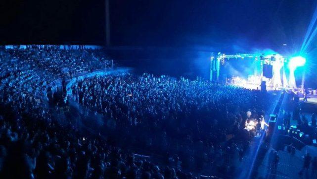 Κοσμοσυροή στη συναυλία του Χαρούλη στο στάδιο Τρικάλων