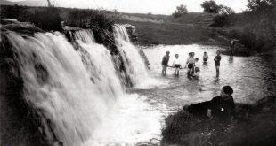 Καταρράκτες του Ληθαίου ποταμού στα Τρίκαλα