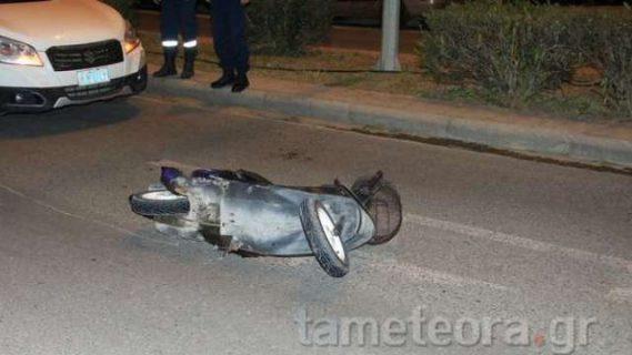 Τροχαίο ατύχημα με τραυματία στην Καλαμπάκα