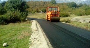 Άσφαλτος σε αγροτικούς δρόμους στα Τρίκαλα