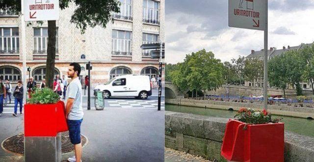 Aνοιχτά δημόσια ουρητήρια εγκαινιάστηκαν στο Παρίσι!!! | ΒΙΝΤΕΟ