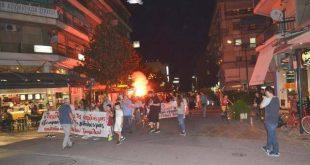 Aντιφασιστική πορεία για τον Παύλο Φύσσα στα Τρίκαλα