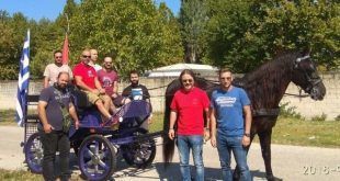 Επτά νέοι διπλωματούχοι αμαξάδες στα Τρίκαλα!