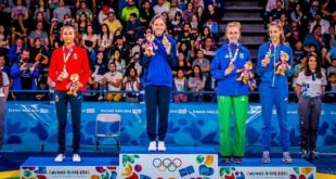 «Χάλκινη» η Τρικαλινή Φανή Τζέλη στους Ολυμπιακούς Αγώνες Νέων!