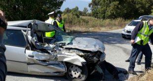 Σφοδρή σύγκρουση οχημάτων στον περιφερειακό Πύλης – Καρδίτσας!!!