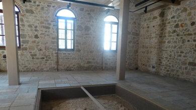 Το δίδυμο οθωμανικό λουτρό στις παλαιές φυλακές Τρικάλων