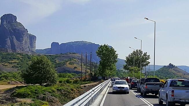 Δόθηκε σε κυκλοφορία η γέφυρα της Διάβας