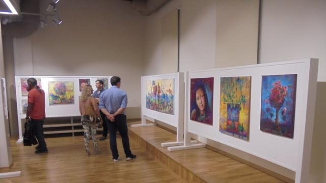 Έργα ζωγραφικής και γλυπτικής θαύμασαν φιλότεχνοι Τρικαλινοί