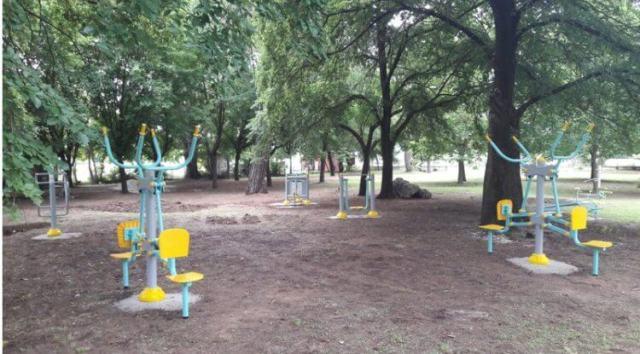 Πάρκο με... τα όλα του πλέον το πάρκο του Αη Γιώργη