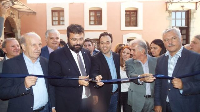 Εγκαινιάστηκε το βιομηχανικό Μουσείο Μύλου Ματσόπουλου