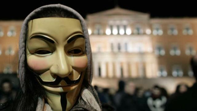 Οι Anonymous Greece χάκαραν κυβερνητικές ιστοσελίδες