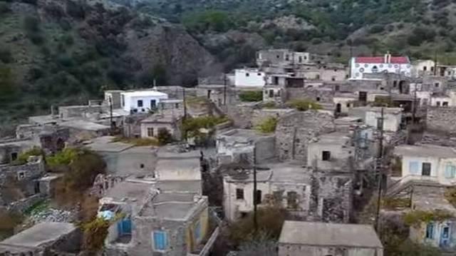 Το εγκαταλελειμμένο χωριό της Κρήτης που διεκδικεί βραβείο