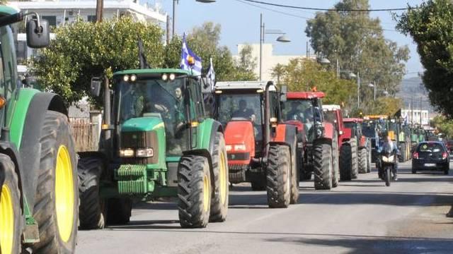 Κινητοποιήσεις των αγροτών στα Τρίκαλα