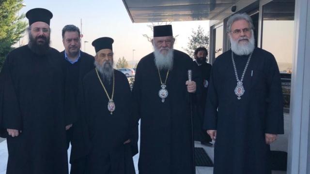 Eπίσκεψη Ιερώνυμου στον πρ. Τρίκκης και Σταγών κ. Αλέξιο