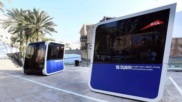 Λεωφορεία χωρίς οδηγό στους δρόμους του Ντουμπάι