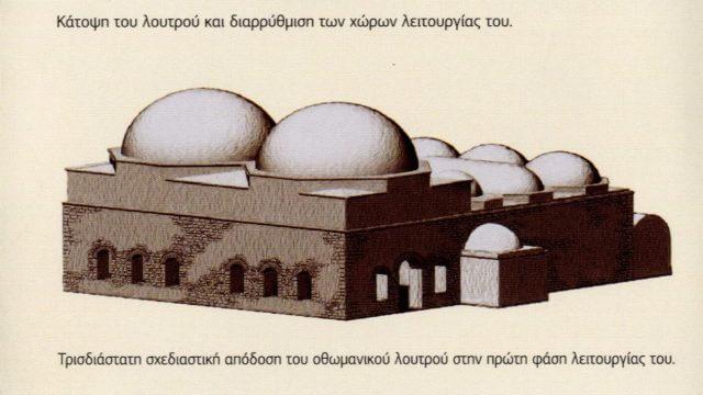 Photo of Το δίδυμο οθωμανικό λουτρό Τρικάλων