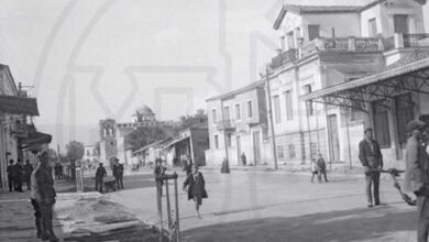 Photo of Η οδός Στρ. Σαράφη στα Τρίκαλα το 1941