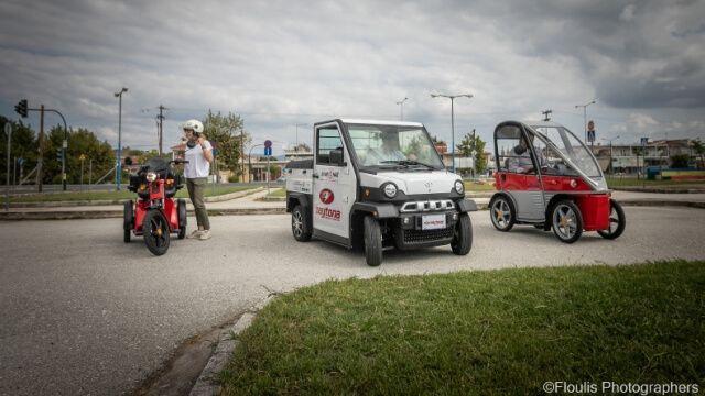 Η πρώτη παρουσίαση των ηλεκτροκίνητων οχημάτων στα Τρίκαλα