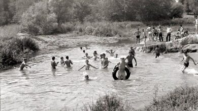 "Photo of Κολύμπι στα Σαράγια Τρικάλων στην περιοχή ""Τσιοπελάκου"""