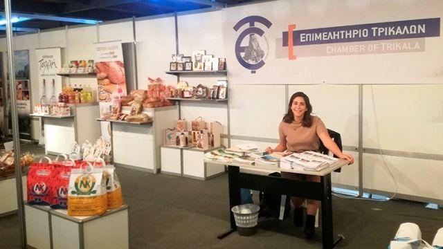 Το Επιμελητήριο Τρικάλων πρόβαλε τις επιχειρήσεις – μέλη του στην Εμποροβιοτεχνική Έκθεση Καρδίτσας