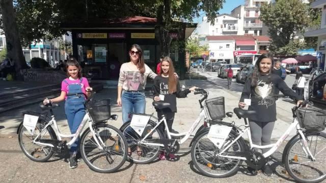 Παρέλαβαν τα ποδήλατα – δώρα της Εβδομάδας Κινητικότητας!