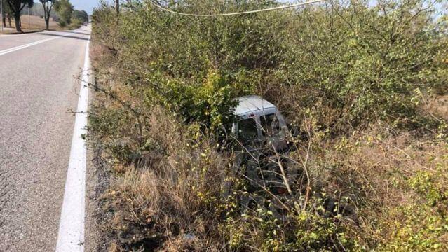 Τροχαίο ατύχημα στην Μύκανη Καλαμπάκας!