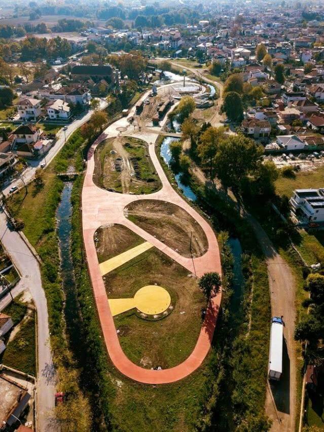 Το νέο παρκάκι στο Μύλο Ματσόπουλου πλέον παίρνει μορφή!!!