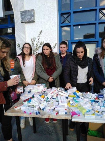 «Παγκόσμια Ημέρα Εθελοντισμού» Συγκέντρωση φαρμάκων στην Καλαμπάκα