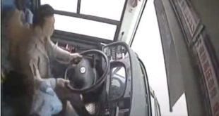 Ο τσακωμός γυναίκας με οδηγό λεωφορείου στοίχισε 15 ζωές!!!