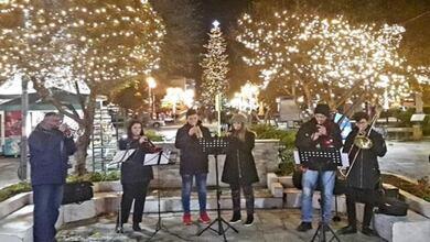 Στο πνεύμα των Χριστουγέννων η πόλη μας