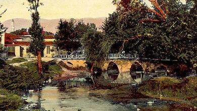 Photo of Η γέφυρα του «Πίχτου» πριν την πλημμύρα του 1907
