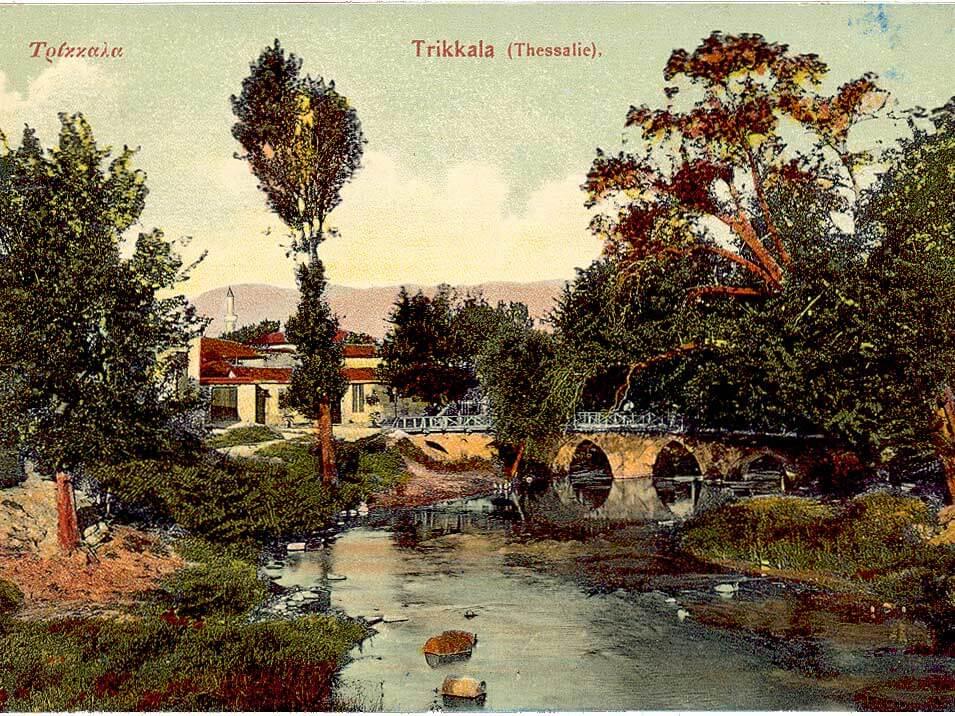 Η γέφυρα του «Πίχτου» πριν την πλημμύρα του 1907