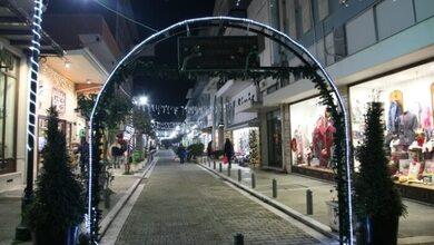 Χριστουγεννιάτικο το Ιστορικό Εμπορικό Κέντρο Τρικάλων!