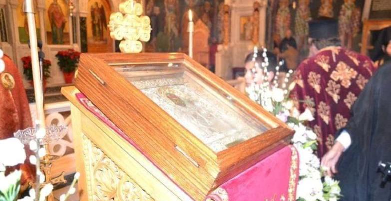 Τα Τρίκαλα υποδέχθηκαν την Ιερά Εικόνα της Παναγίας της Σπηλιώτισσας