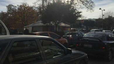 Κυκλοφοριακό κομφούζιο στο κέντρο των Τρικάλων