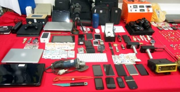 Συνελήφθησαν διαρρήκτες με δράση και στα Τρίκαλα