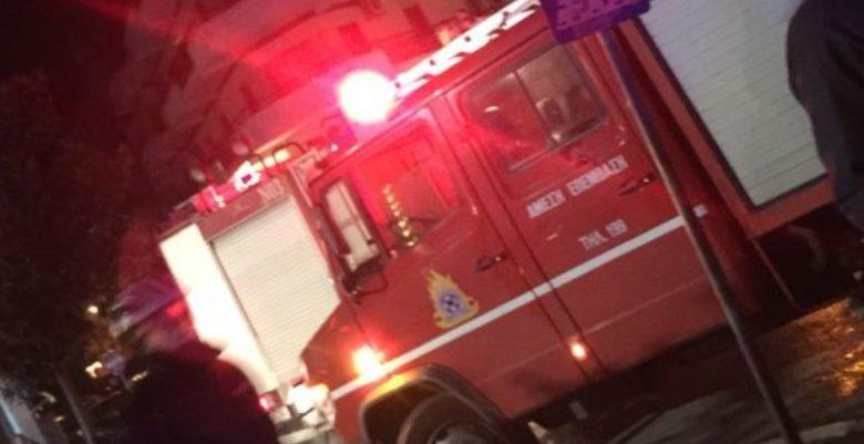 Αναστάτωση από φωτιά σε διαμέρισμα στα Τρίκαλα
