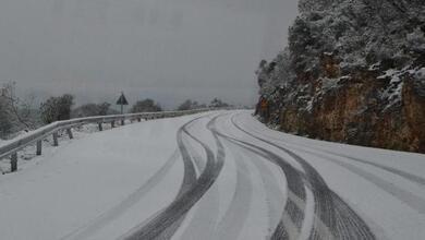 Ξεκίνησε η χιονόπτωση στα ορεινά των Τρικάλων