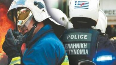 Τα πρώτα συμβάντα το 2019 σε Αστυνομία και Πυροσβεστική στα Τρίκαλα!